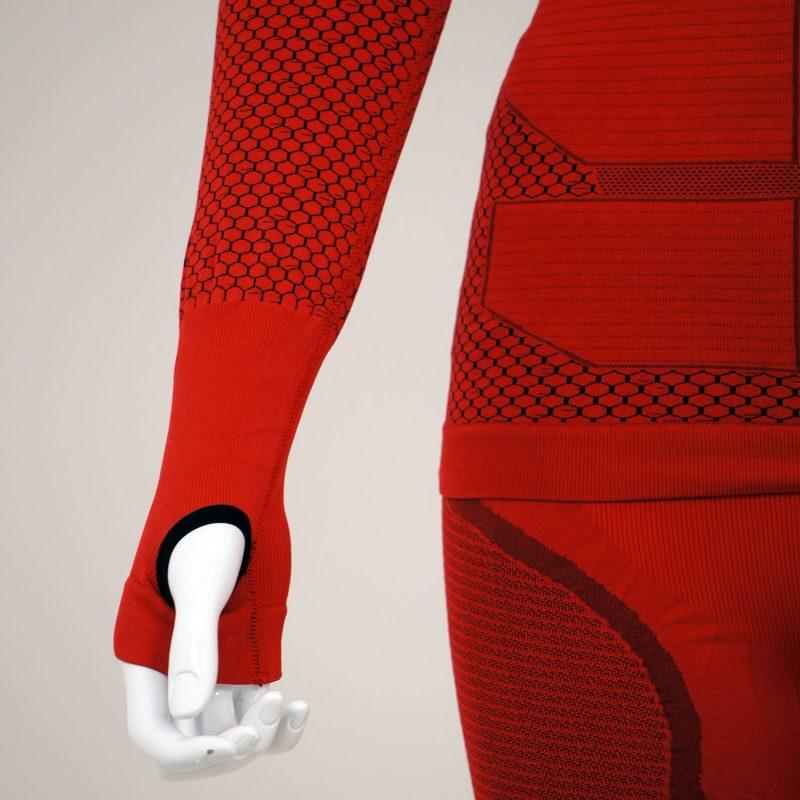Термо комплект дамски KPROTERM червен - снимка 8