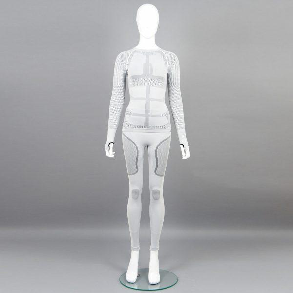Термо комплект дамски KPROTERM светло сив - снимка 1