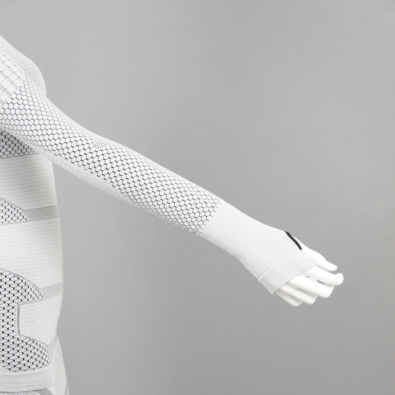 Термо комплект дамски KPROTERM светло сив - снимка 4