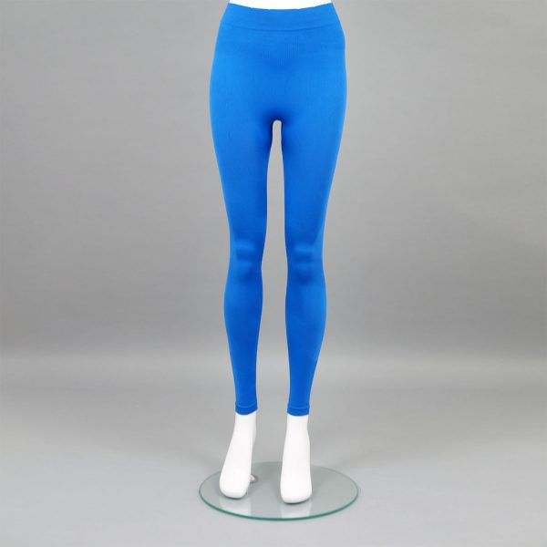 Термо комплект дамски цвят син камуфлаж - снимка 3