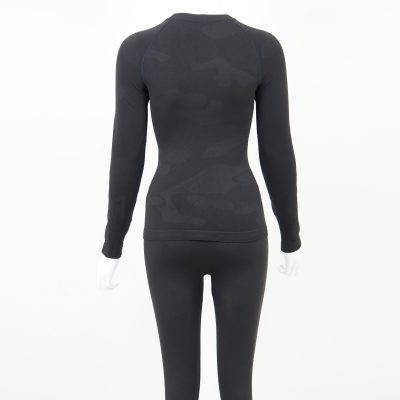 Термо комплект дамски тъмносиво комо - снимка 5