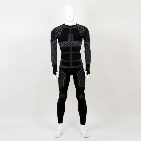 Термо комплект мъжки KPROTERM черен - снимка 1