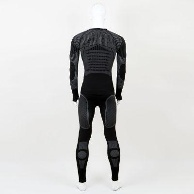 Термо комплект мъжки KPROTERM черен - снимка 2