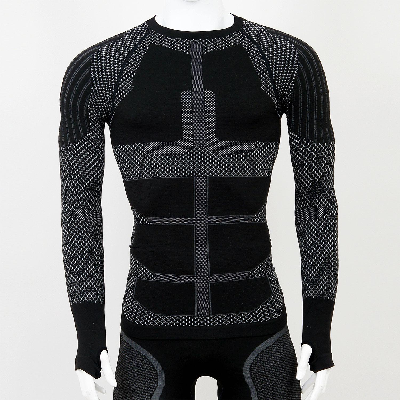 Термо комплект мъжки KPROTERM черен - снимка 3