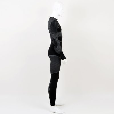 Термо комплект мъжки KPROTERM черен - снимка 6