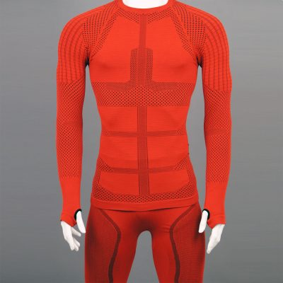 Термо комплект мъжки KPROTERM червен - снимка 0