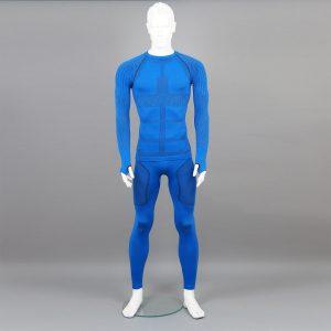 Термо комплект мъжки KPROTERM син - снимка 2