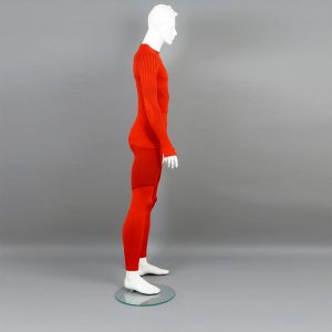 Термо комплект мъжки KPROTERM червен - снимка 2