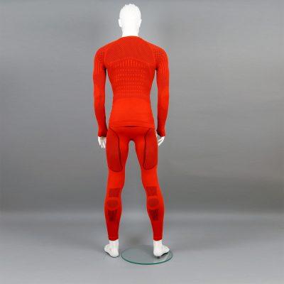 Термо комплект мъжки KPROTERM червен - снимка 3