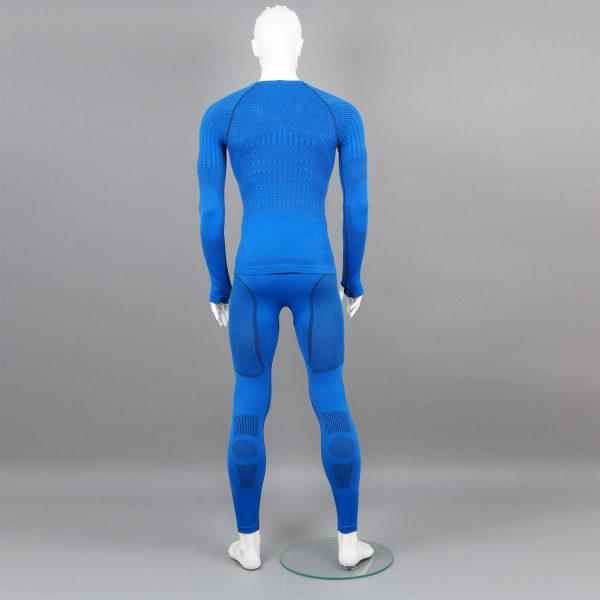 Термо комплект мъжки KPROTERM син - снимка 4