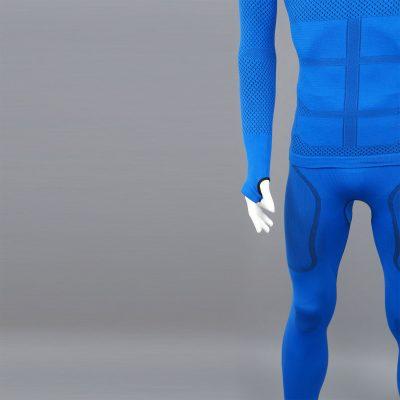Термо комплект мъжки KPROTERM син - снимка 7