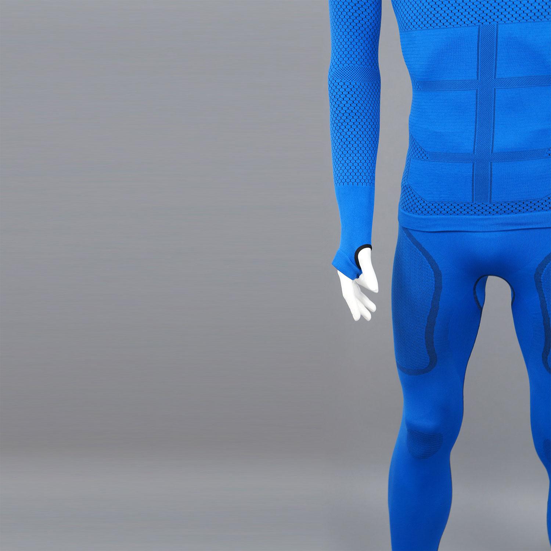 Термо блуза мъжка KPROTERM син цвят - снимка 7