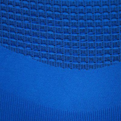 Термо комплект мъжки KPROTERM син - снимка детайл материя