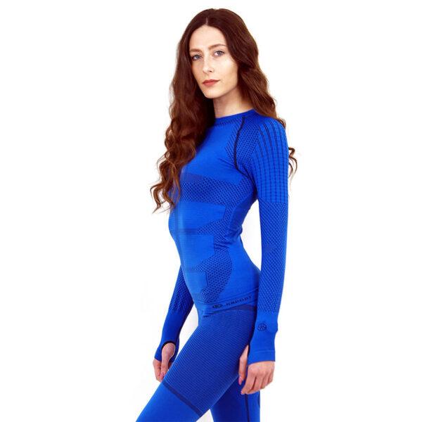 Термо блуза дамска марка KSPORT серия KPROTERM син цвят - снимка 1