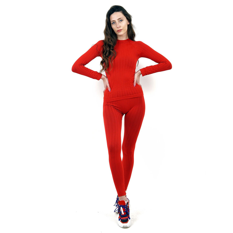 Термо клин марка KSPORT дамски модел червен цвят - снимка 1