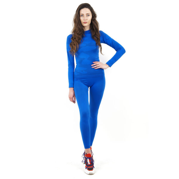 Термо клин дамски марка KSPORT синьо комо - снимка 1