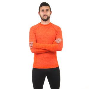 Мъжка термо блуза марка KSPORT оранжев цвят - снимка 3
