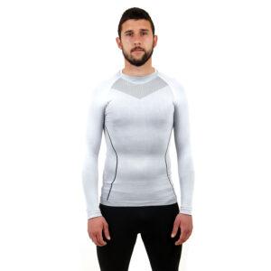 Термо бельо - мъжкa блуза марка KSPORT бял цвят - снимка 1