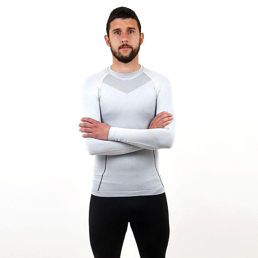 Термо бельо - мъжкa блуза марка KSPORT бял цвят - снимка 2