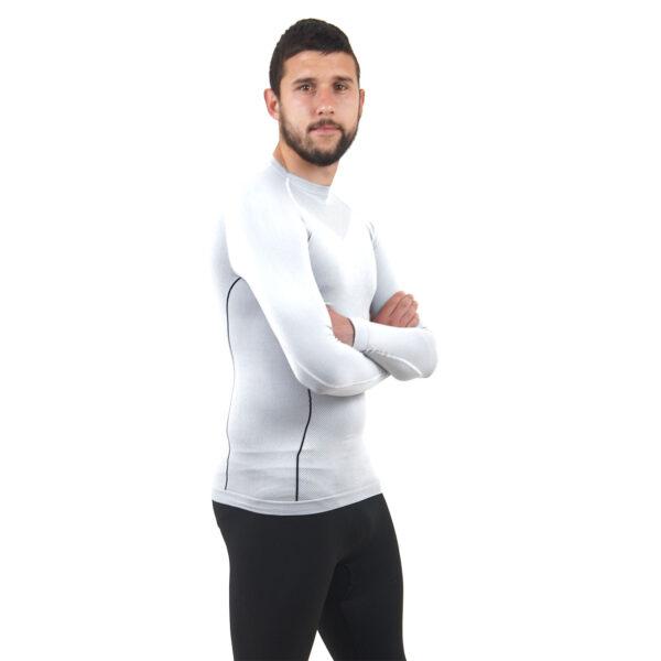 Термо бельо - мъжкa блуза марка KSPORT бял цвят - снимка 3