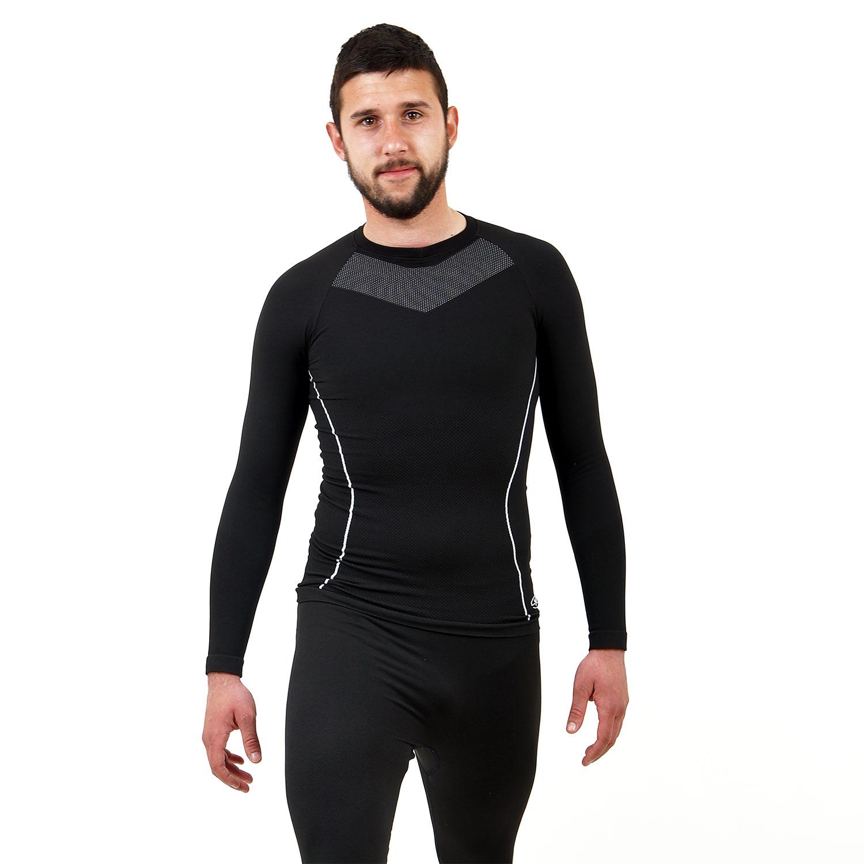 Термо мъжкa блуза марка KSPORT черен цвят - снимка 1