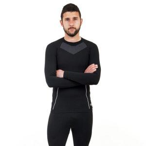 Термо мъжкa блуза марка KSPORT черен цвят - снимка 2