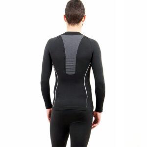 Термо мъжкa блуза марка KSPORT черен цвят - снимка 4