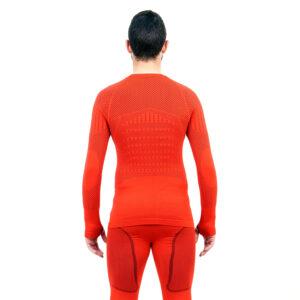 Термо блуза мъжка марка KSPORT серия KPROTERM червен цвят - снимка 4