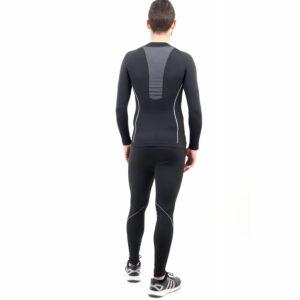 Термо бельо - мъжки клин марка KSPORT черен цвят - снимка 2