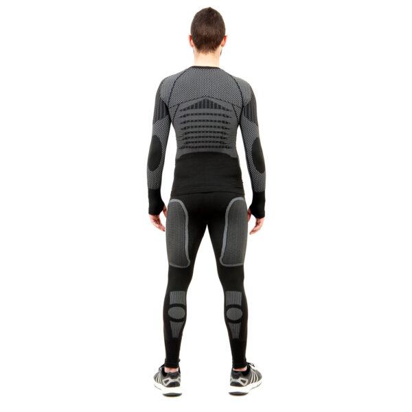 Термо комплект мъжки марка KSPORT серия KPROTERM черен цвят - снимка 4