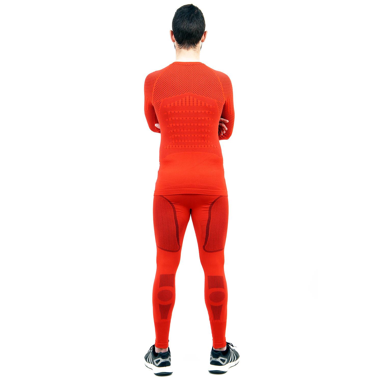 Термо комплект мъжки марка KSPORT серия KPROTERM червен цвят - снимка 4
