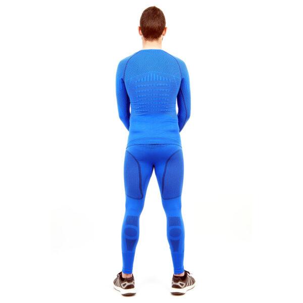 Термо комплект мъжки марка KSPORT серия KPROTERM син цвят - снимка 4