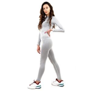 Термо клин марка KSPORT - дамски модел - светлосив