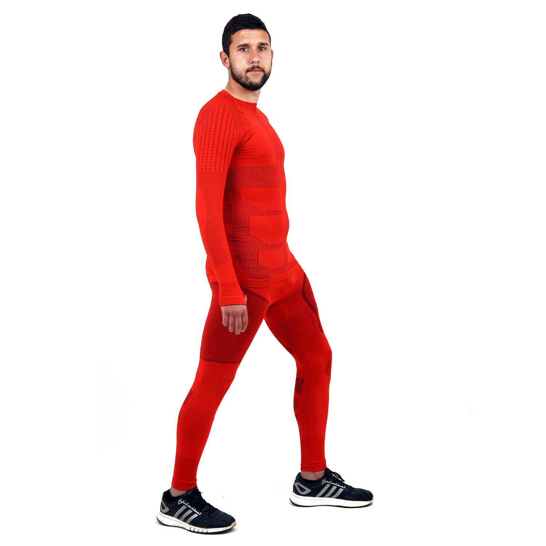 Термо клин мъжки марка KSPORT серия KPROTERM червен цвят