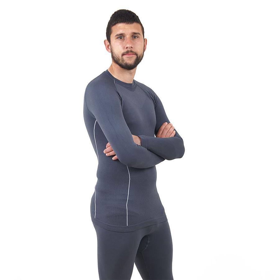 Термо бельо - мъжкa блуза марка KSPORT сив цвят - снимка 1