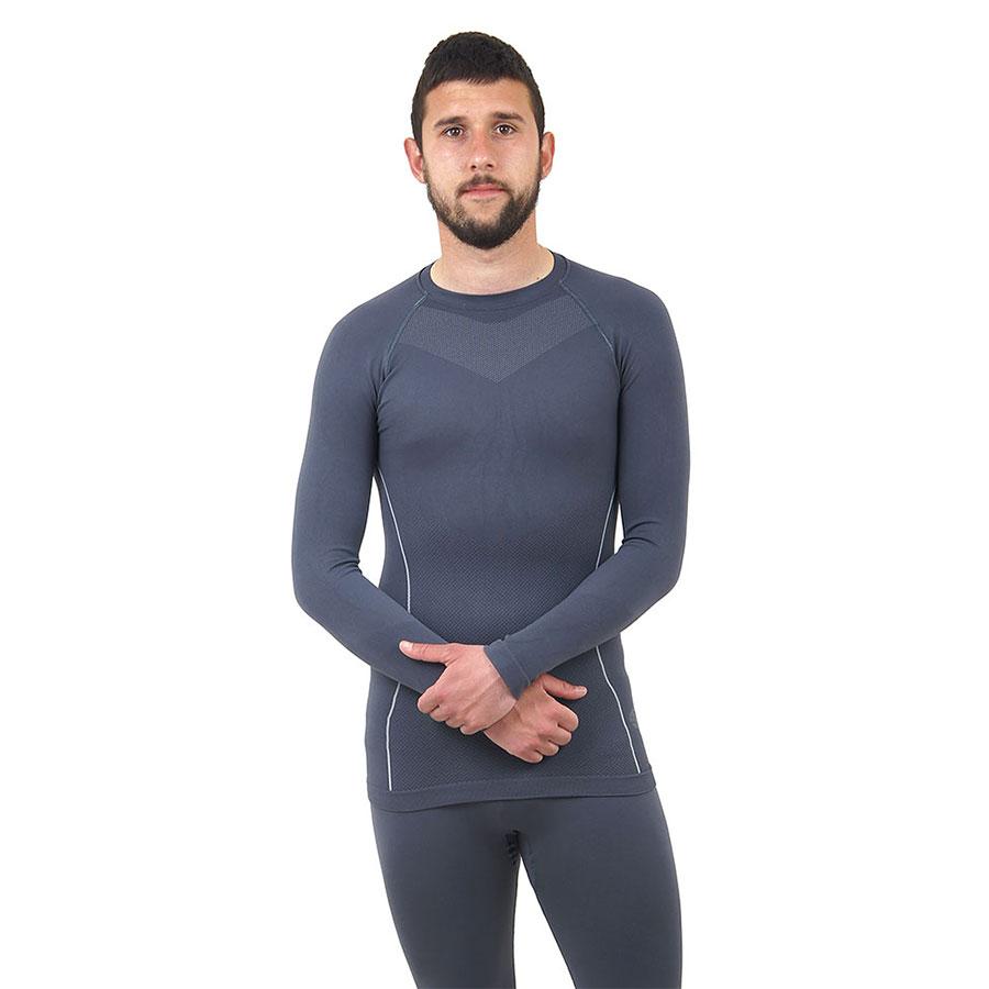 Термо бельо - мъжкa блуза марка KSPORT сив цвят - снимка 2