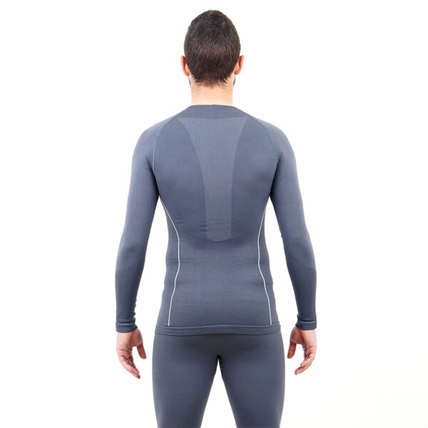 Термо бельо - мъжкa блуза марка KSPORT сив цвят - снимка 4