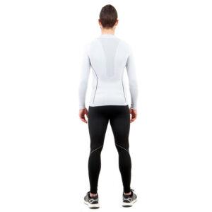 Термо бельо марка KSPORT мъжки комплект в бяло и черно - снимка 5