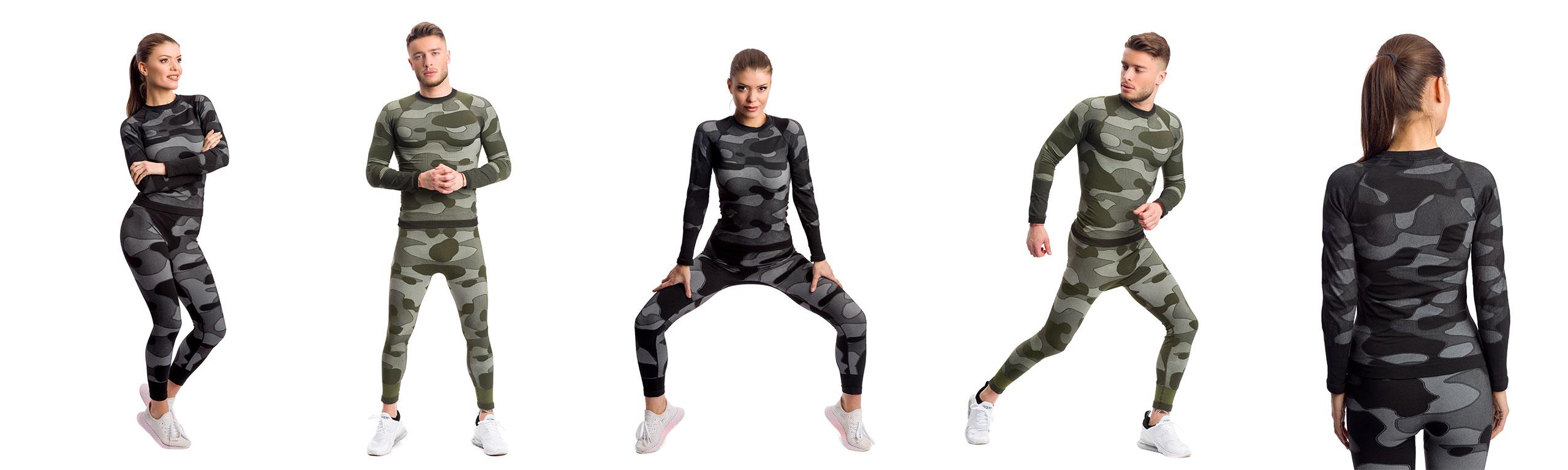 Серия спортни термо облекла COMO от българския производител KSPORT