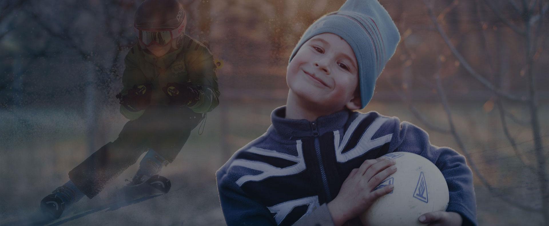 термо бельо за деца за ски и футбол